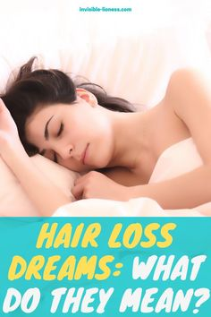 Do you keep dreaming about losing your hair and wonder what that means? These are possible dream interpretations!
