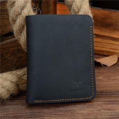 Cowather Crazy Horse Style Genuine Leather Men's Wallet