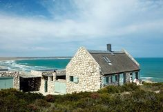 Stone Beach Cottage. Take a look inside! http://beachblissliving.com/beach-country-cottage-stone/