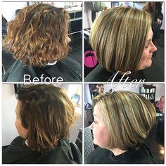 Exclusive, transformation, color, highlights, blonde, layers, cut, hair, short hair, long hair, medium hair, Titusville, Florida