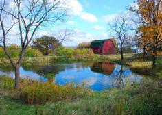 We had a farm pond