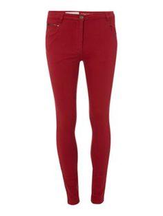 Mary Portas High-waist zip jeans