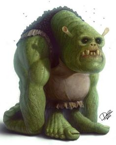 Shrek [as a monster] (Drawing by DcTattoo_Swe Scary Characters, Childhood Characters, Cute Cartoon Characters, Favorite Cartoon Character, Character Art, Character Design, Disney Characters, Disney Horror, Horror Cartoon