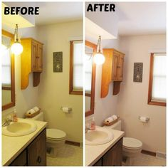 The Pearl Blog's #100reveal bathroom makeover.