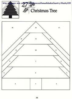 Шаблоны для пэчворка 101 Foundation-Pieced Quilt Blocks 038