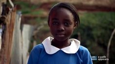 """On International Day of the Girl, Eunice, a 5th grader at the Kibera School for Girls in Kenya, reminds us to """"DREAM."""""""