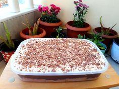 Γλυκάκι εύκολο ψυγείου για όλες τις ώρες Something Sweet, Greek Recipes, Tiramisu, Pudding, Sweets, Ethnic Recipes, Desserts, Food, Rezepte