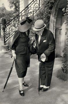 Longchamps, 1955 (Henri Cartier-Bresson)