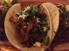 Brisket tacos; The Royale; Tower Grove South, St. Louis
