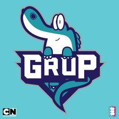 We're celebrating All-Star Weekend with Cartoon Network x NBA mashup logos!