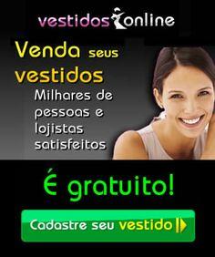 Venda seus vestidos - www.vestidosonline.com.br