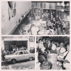 First Opening of Amigo Leal Bar, february 1967.