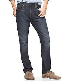 "As seen on ""The Little Black Dress meets the Simple Black Sweater"" post on www.slightlyrefined.com  Slim Jeans for Men   Gap"