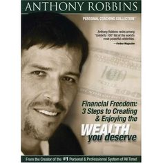 Financial Freedom: 3 Steps to Creating & Enjoying the Wealth You Deserve  Imagine what your life would be like if you were financially independent. What if you could choose to work not beca