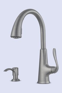 matte gray pasadena pull down faucet, kitchen and bath problem solvers