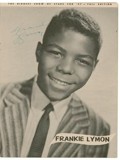 The Biggest Show of Stars for '57 - Frankie Lymon