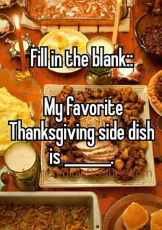 This should interesting and yummy! Comment below and fill in the blank! With Thanksgiving around the corner I want to see what everyone's favorite side dish is! Thanksgiving Post, Thanksgiving Side Dishes, Thanksgiving Recipes, Facebook Engagement Posts, Social Media Engagement, Engagement Meme, Fall Engagement, Avocado Smoothie, Facebook Party