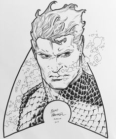 Aquaman by Brad Walker