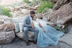 Desert wedding inspiration at zion national park for Loue robe de mariage utah