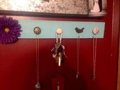 Beautiful distressed jewelry holders 1421 or by SandJBargainVault