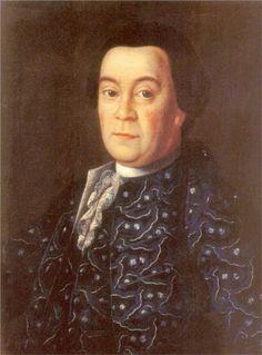 Portrait of Brigadier Michael Dmitrievich Buturlin  Aleksey Antropov