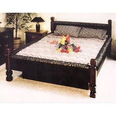 black vinyl waterbed frame - Water Bed Frames