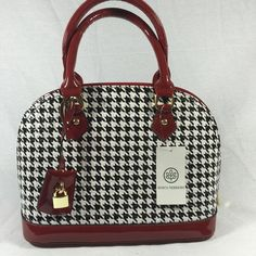 Sold Black and burgundy purse Bags Shoulder Bags