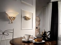 """Target Point Wandleuchte """"Rose"""" in Weiß patiniert - Target, Sconces, Wall Lights, Rose, Home Decor, Chandeliers, Appliques, Pink, Decoration Home"""
