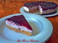 Torta fredda allo yogurt | ricetta senza cottura nè colla di pesce | La Bora Bianca