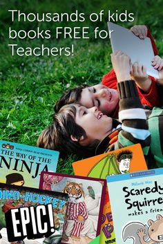 Free eBooks for Teachers and Librarians! www.getepic.com