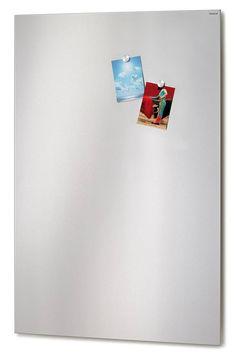 MURO magneetbord 66745 van BLOMUS. Hoogte 115 cm, breedte 75 cm. Uitgevoerd in geborsteld (mat) RVS. De BLOMUS webshop van Nederland www.blomus-athome.nl