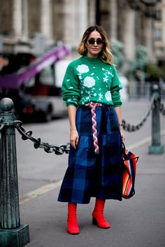 The street style looks outside the Paris shows are consistently some of our favorites. See our favorite street style looks above.