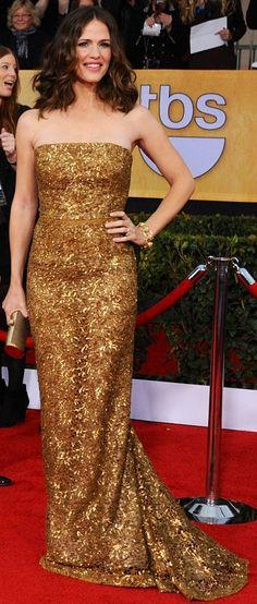 Jennifer Garner   Oscar de la Renta   SAG Awards 2013