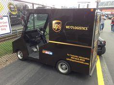 UPS Golfcart