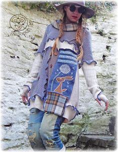 Guest Blogger and Upcycler: Emajane Pixie Rainbow!