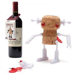 Korken-Roboter Corkers Robots, Bella - Monkey Business #cork #robot