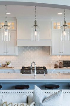 Glass Kitchen Pendant Lights - Hollywood Thing