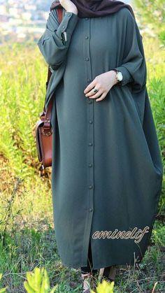 Get inspired with these 18 trending ideas – – G – Hijab Club Abaya Fashion, Modest Fashion, Fashion Outfits, Fashion Muslimah, Fashion Fashion, Hijab Style Dress, Hijab Chic, Abaya Style, Estilo Abaya
