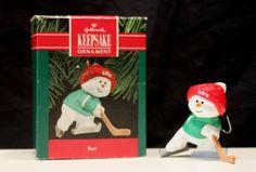 """Vintage Hallmark Christmas Keepsake Ornament """"Son"""" 1990"""