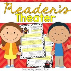 Reader's TheaterThis product includes 9 stories for Reader's Theater. Reader's Theater is a great way for students to practice fluency and expression. It is always a great team building activity for partners/diads, triads, or quads! In the pictures, it shows just one page of the scripts, each script is 2 pages in length!