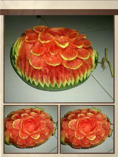 A flower melon