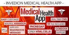 Medical Health App With CMS - iOS . Medical has features such as Software Version: iOS 7.0.x, iOS 6.1.x, iOS 6.0, iOS 5.1, iOS 5.0, iOS 4.3, iOS 4.2, iOS 4.1