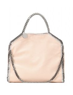 Stella McCartney - Falabella Small shoulder bag - This small version has just enough room for all your everyday needs, with both a top handle and a shoulder strap for versatile styling. Try this powder style next to bright colours for a cool contrast - @ www.mytheresa.com