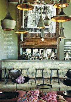 the decorator: Urquiola Carribean Island Retreat bar face