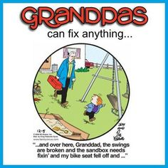 Grandpa's are awesome!