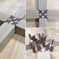 Organised chaos!! 4 way splined mitre, not only will this reinforce the junction but it looks pretty fricken cool too. Simple pleasures.…