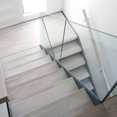 Modern and stylish Floating Staircase, Stairs, Loft, Living Room, Interior Design, Bedroom, Modern, Zen, Scale