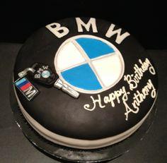#BMW themed Birthday Cake