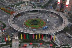 Pedestrian bridge in China » Biskvitka.net