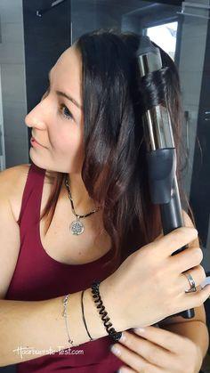 Lockenstab 32mm: Welcher 32mm Lockenstab ist gut? - Praxis Tests! Ghd Curve, Soft Curls, Curling Wand Waves, Best Hair Wand, Hair Tips, Styling Tips, Medium Length Hairs, Loose Curls
